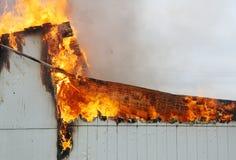 Ожог пожара Стоковые Изображения RF