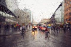 дождь Сидней фото nsw города Австралии принял Стоковые Фотографии RF