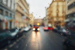 дождь Сидней фото nsw города Австралии принял Стоковая Фотография