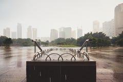 дождь Сидней фото nsw города Австралии принял Стоковая Фотография RF