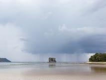 дождь тропический Стоковое Изображение RF