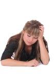 озадаченная женщина Стоковая Фотография RF