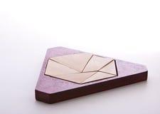 озадачьте треугольник Стоковые Изображения RF