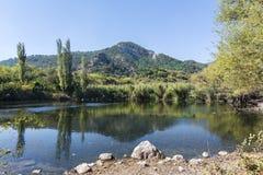 Озера близнеца долины ` s почтового голубя Стоковое Изображение