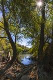 Озера близнеца долины ` s почтового голубя Стоковые Фото