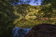 Озера близнеца долины ` s почтового голубя Стоковая Фотография