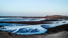 Озера в пустыне Стоковая Фотография