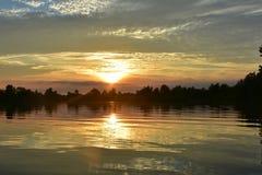 Озера в Reeuaijk Стоковая Фотография RF