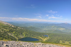 Озера гор Стоковое Изображение