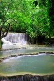 Озера известняк Лаоса Стоковые Фотографии RF