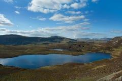 Озера и вересковая пустошь Стоковое фото RF