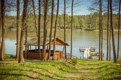 Озера Литвы Стоковое Изображение RF