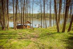 Озера Литвы Стоковые Изображения RF