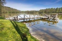 Озера Литвы Стоковое Изображение