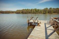 Озера Литвы Стоковые Изображения