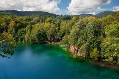 озера наследия Хорватии перечисляют мир unesco plitvice национального парка Стоковые Фото