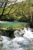 озера наследия Хорватии перечисляют мир unesco plitvice национального парка Стоковое Изображение RF