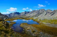 Озера национальный парк Нельсон, Новая Зеландия Стоковые Фото