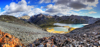 Озера Нельсон, Новая Зеландия Стоковые Фото