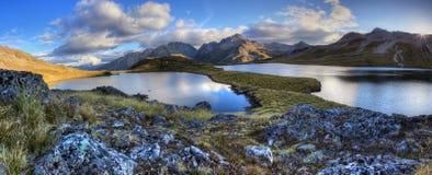 Озера Нельсон, Новая Зеландия Стоковые Изображения RF