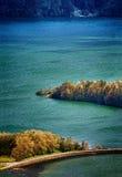 Озера огн Стоковые Фотографии RF