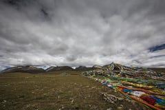 Озера плато Цинха-Тибета Стоковая Фотография RF