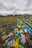 Озера плато Цинха-Тибета Стоковые Изображения RF