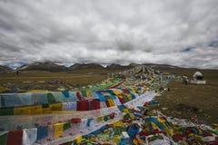 Озера плато Цинха-Тибета Стоковая Фотография