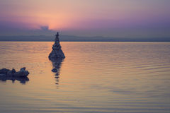 Озера сол Torrevieja, Валенсии, Испании Стоковая Фотография