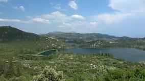 Озера Bacina, Хорватия сток-видео