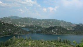 Озера Bacina, Хорватия видеоматериал