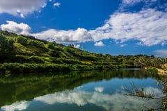 Озера Chadwick, Мальта Стоковая Фотография RF