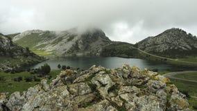 Озера Covadonga в Астурии, Испании Стоковая Фотография