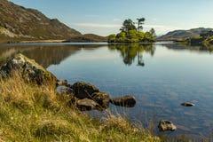 Озера 3 Cregennen ландшафт Welsh Стоковое фото RF