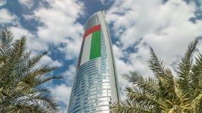 Озера Jumeirah возвышаются в Дубай, Объединенных эмиратах, Дубай, timelapse небоскребов сток-видео