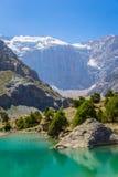 Озера Kulikalon, горы Fann, туризм, Таджикистан Стоковые Фотографии RF