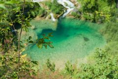 Озера Plitvice Стоковая Фотография