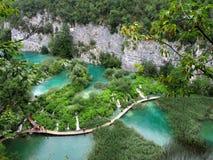 Озера Plitvice Стоковое Изображение RF