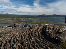 Озера Thingvellir стоковое фото