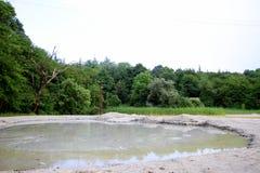 Озеро Ðœud в Georgia, Кавказе Стоковое Изображение