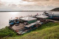 Озеро подрыв Tonle Стоковая Фотография