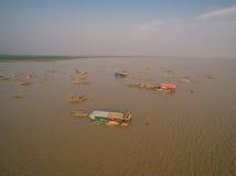 Озеро подрыв Tonle стоковое фото rf