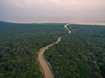 Озеро подрыв Tonle стоковые фотографии rf