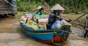 Озеро подрыв Tonle Стоковое Изображение RF