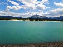Озеро Авраам стоковое изображение rf