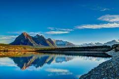 Озеро Авраам Стоковое Фото