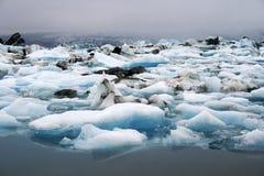 озеро айсберга Стоковые Фотографии RF