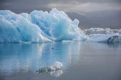 Озеро айсберг, Jokulsarlon Стоковые Изображения RF