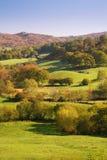 озеро Англии заречья сельской местности Стоковые Изображения RF