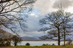 Озеро Англия Великобритания Bassenthwaite Стоковые Изображения